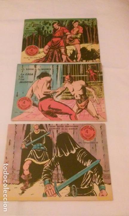 FLECHA Y ARTURO NUMEROS 4-5 Y 6 (ANTIGUOS ) (Tebeos y Comics - Ricart - Flecha y Arturo)