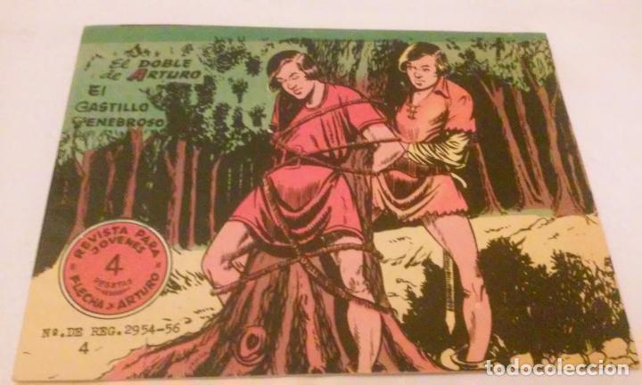 Tebeos: FLECHA Y ARTURO NUMEROS 4-5 Y 6 (ANTIGUOS ) - Foto 2 - 101277295