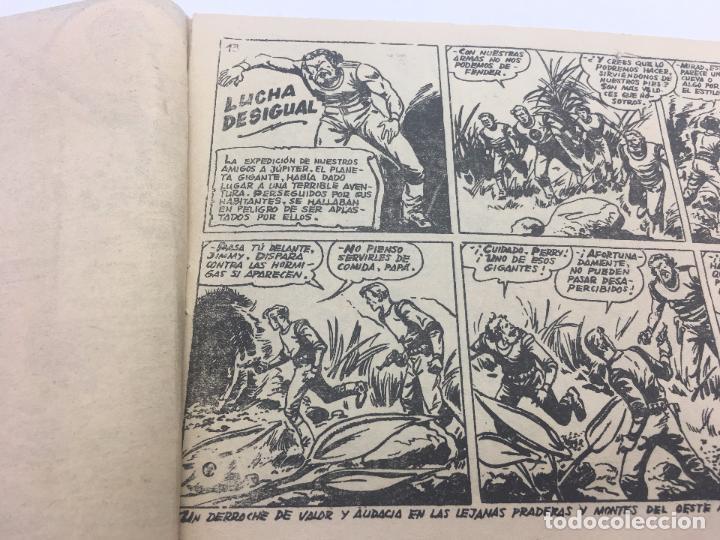 Tebeos: PLATILLOS VOLANTES 2ª SERIE Nº 13 lucha desigual EDITA RICART - 1956 - Foto 2 - 103064295
