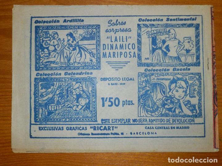 Tebeos: TEBEO - COMIC - COLECCIÓN GACELA - LA PORTERA DE PALACIO - Nº ?? - RICART - - Foto 2 - 105860879
