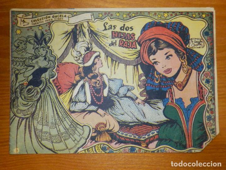 TEBEO - COMIC - COLECCIÓN GACELA - LAS DOS HIJAS DE RAJÁ - Nº 44 - RICART - (Tebeos y Comics - Ricart - Gacela)