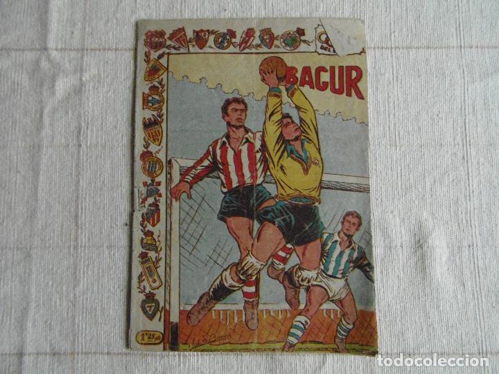 COMIC, BAGUR, ASES DEL DEPORTE, Nº 4, RICART ORIGINAL (Tebeos y Comics - Ricart - Otros)