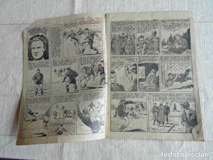 Tebeos: COMIC, BAGUR, ASES DEL DEPORTE, Nº 4, RICART ORIGINAL - Foto 2 - 107240911