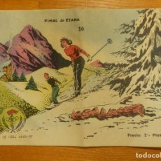Tebeos: COMIC - AVENTURAS DEPORTIVAS - FINAL DE ETAPA - Nº 16 - 1957 - RICART -. Lote 107297487