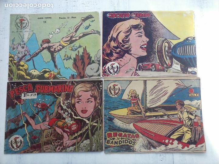 AVENTURAS DEPORTIVAS RICART NºS - 9,11,17,19 (Tebeos y Comics - Ricart - Aventuras Deportivas)