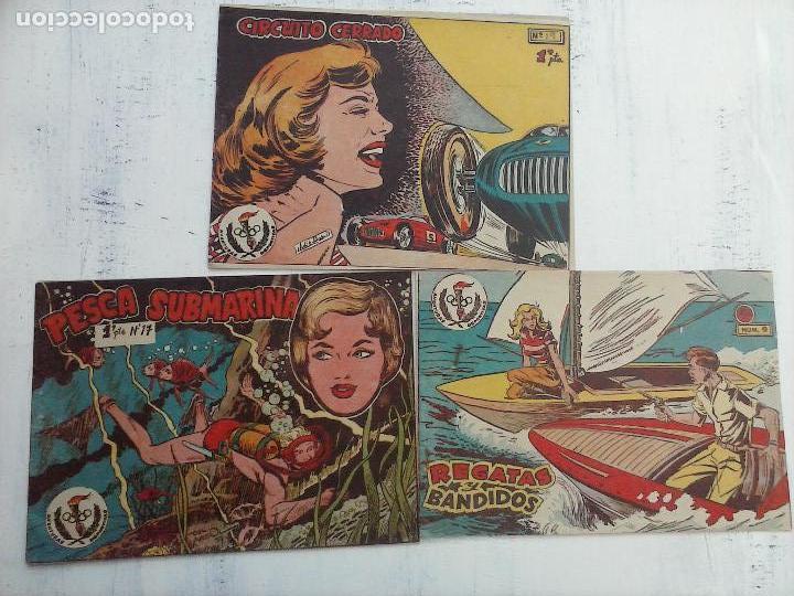 Tebeos: AVENTURAS DEPORTIVAS RICART ORIGINALES 1 PTS. - 1957 NºS - 9,17,19 - Foto 6 - 108373835
