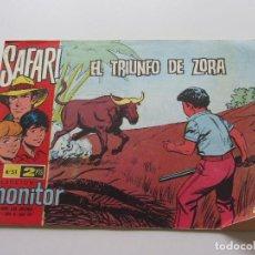 Livros de Banda Desenhada: SAFARI Nº 51 EL TRIUNFO DE ZORA- CLAUDIO TINOCO - RICART ORIGINAL CSADUR86. Lote 109451931