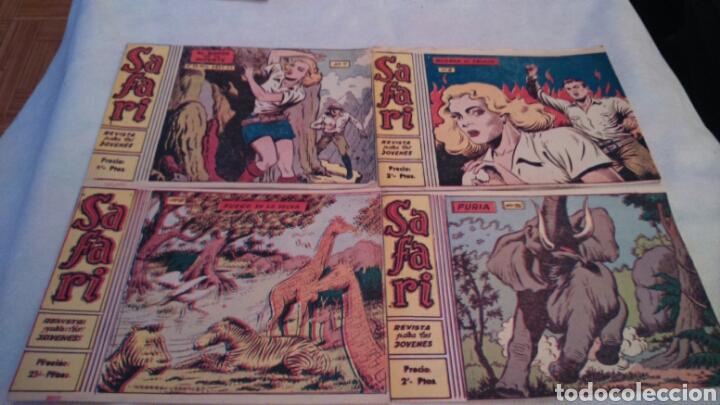 SAFARI REVISTA PARA LOS JÓVENES. 7,8,9 Y 16 (Tebeos y Comics - Ricart - Safari)