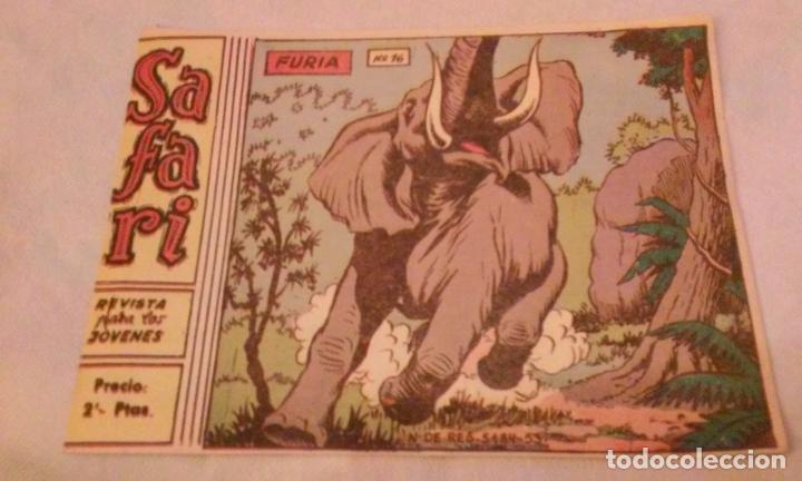 SAFARI N° 16 -FURIA- RICART (Tebeos y Comics - Ricart - Safari)