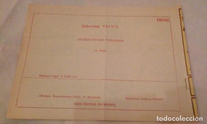 Tebeos: SAFARI N° 16 -FURIA- RICART - Foto 3 - 111053099