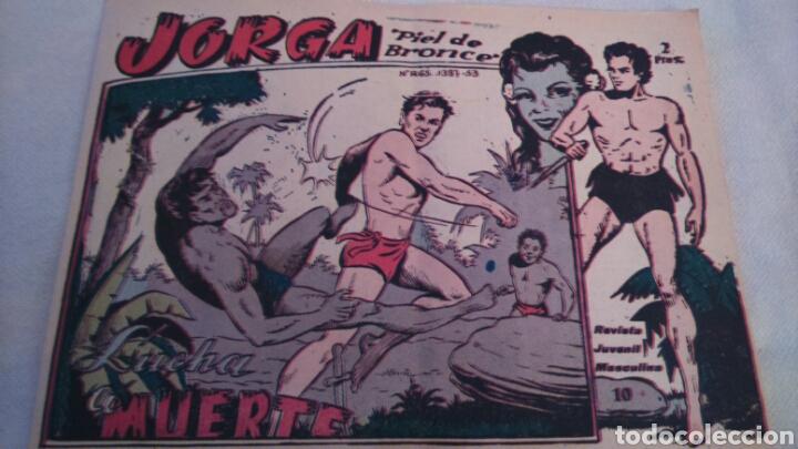 Tebeos: JORGA PIEL DE BRONCE. NUMEROS 10 Y 11 - Foto 3 - 111053158
