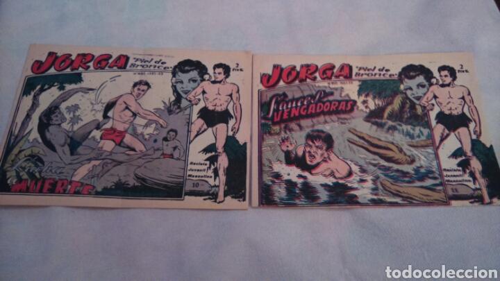 JORGA PIEL DE BRONCE. NUMEROS 10 Y 11 (Tebeos y Comics - Ricart - Jorga)