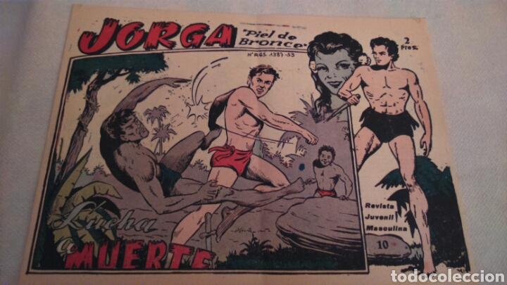 Tebeos: JORGA PIEL DE BRONCE. NUMEROS 10 y 11 - Foto 3 - 111054066