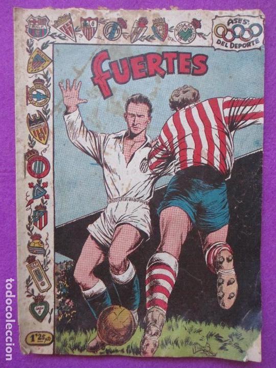 TEBEO FUTBOL, ASES DEL DEPORTE, FUERTES, 26, (Tebeos y Comics - Ricart - Otros)
