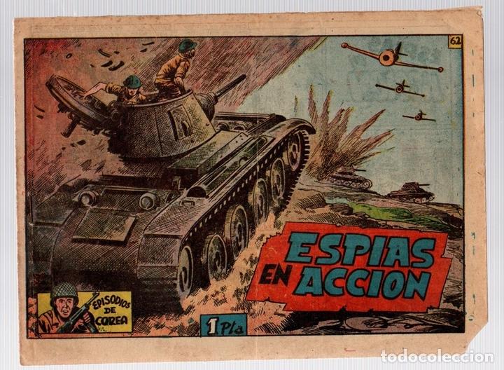 ESPIAS EN ACCION. EPISODIOS DE COREA. Nº 6. RICART (Tebeos y Comics - Ricart - Otros)