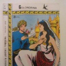 Tebeos: GOLONDRINA REVISTA JUVENIL FEMENINA Nº 162. Lote 114305427