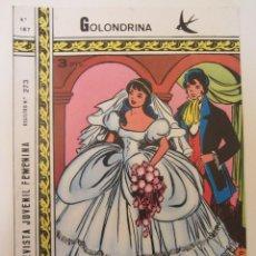 Tebeos: GOLONDRINA REVISTA JUVENIL FEMENINA Nº 187. Lote 182257870