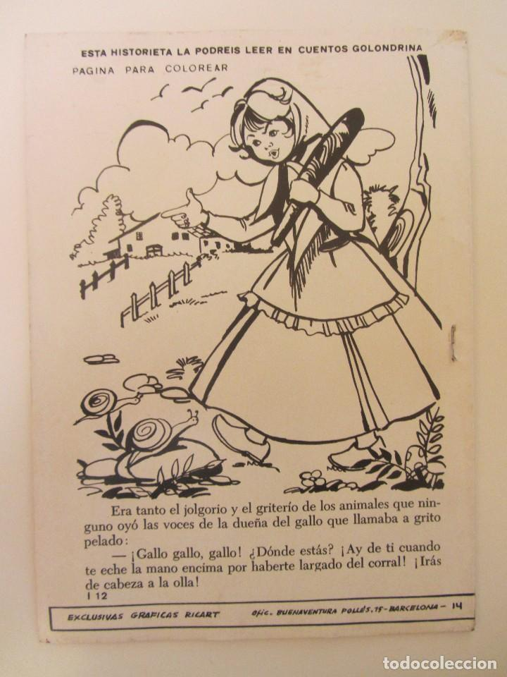 Tebeos: GOLONDRINA REVISTA JUVENIL FEMENINA Nº 187 - Foto 3 - 182257870
