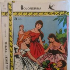 Tebeos: GOLONDRINA REVISTA JUVENIL FEMENINA Nº 193. Lote 114305859