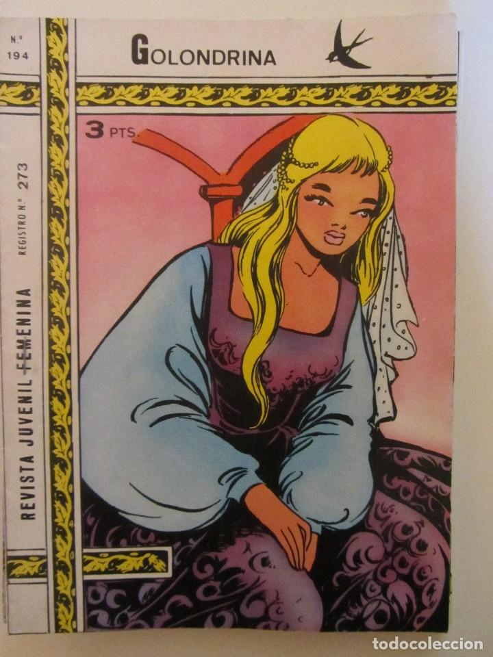 GOLONDRINA REVISTA JUVENIL FEMENINA Nº 194 (Tebeos y Comics - Ricart - Golondrina)