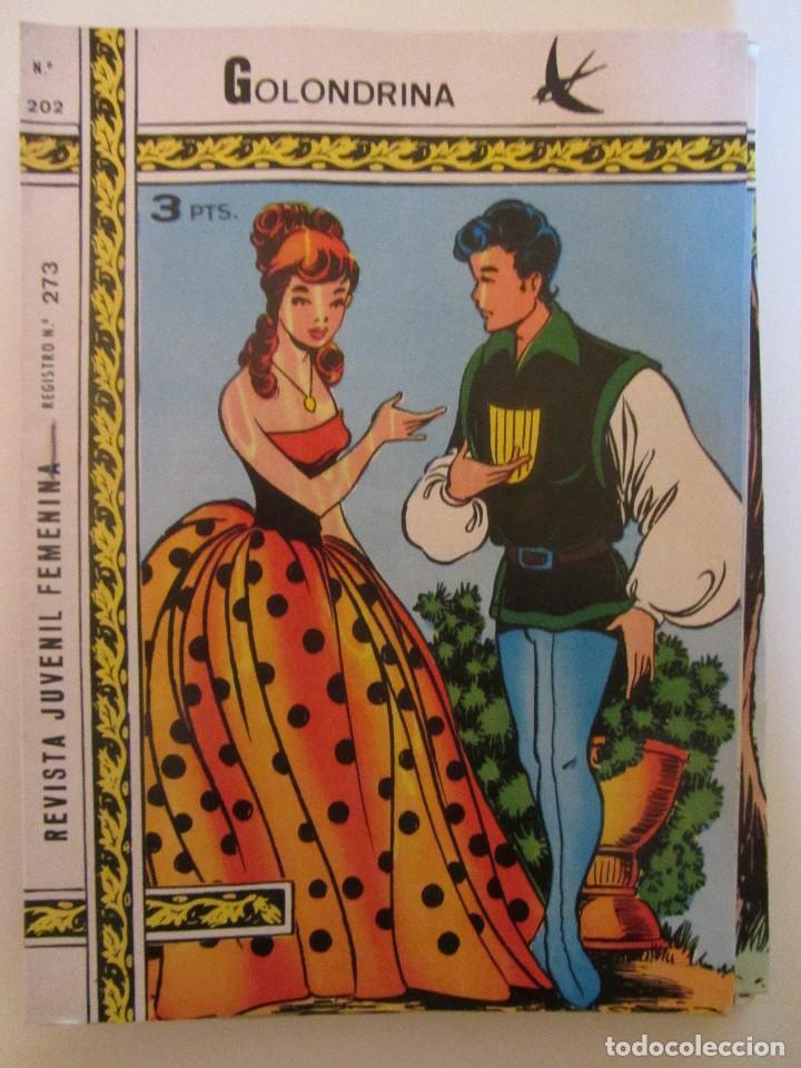 GOLONDRINA REVISTA JUVENIL FEMENINA Nº 202 (Tebeos y Comics - Ricart - Golondrina)