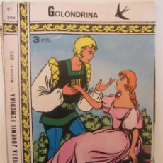 Tebeos: GOLONDRINA REVISTA JUVENIL FEMENINA Nº 204. Lote 114306207