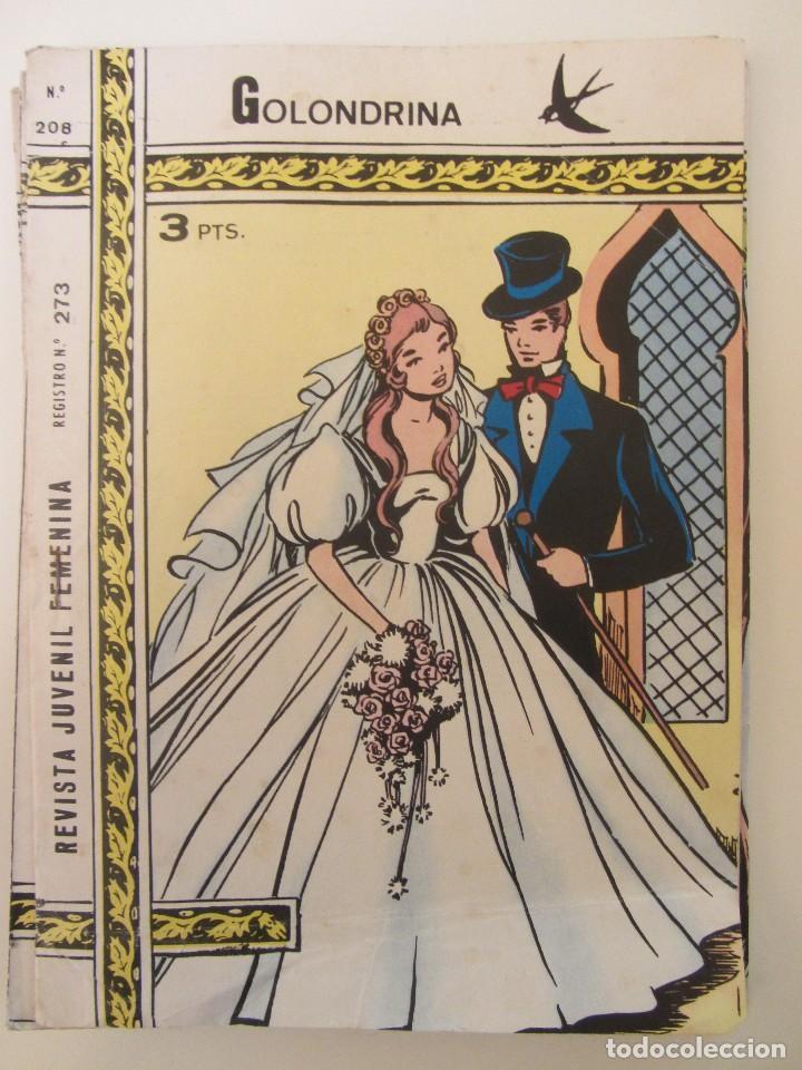 GOLONDRINA REVISTA JUVENIL FEMENINA Nº 208 (Tebeos y Comics - Ricart - Golondrina)