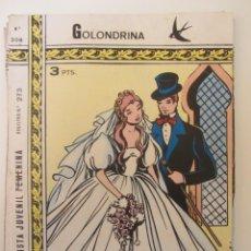 Tebeos: GOLONDRINA REVISTA JUVENIL FEMENINA Nº 208. Lote 114306339