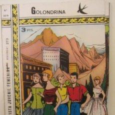 Tebeos: GOLONDRINA REVISTA JUVENIL FEMENINA Nº 209. Lote 114306419