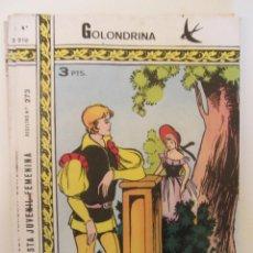 Tebeos: GOLONDRINA REVISTA JUVENIL FEMENINA Nº 210. Lote 182258235