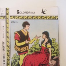 Tebeos: GOLONDRINA REVISTA JUVENIL FEMENINA Nº 211. Lote 114306527