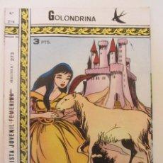 Tebeos: GOLONDRINA REVISTA JUVENIL FEMENINA Nº 214. Lote 182258331
