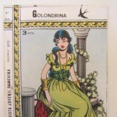 Tebeos: GOLONDRINA REVISTA JUVENIL FEMENINA Nº 215. Lote 182258415