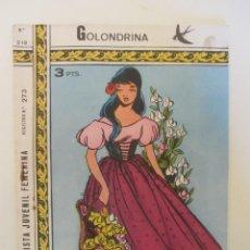 Tebeos: GOLONDRINA REVISTA JUVENIL FEMENINA Nº 219. Lote 114306711