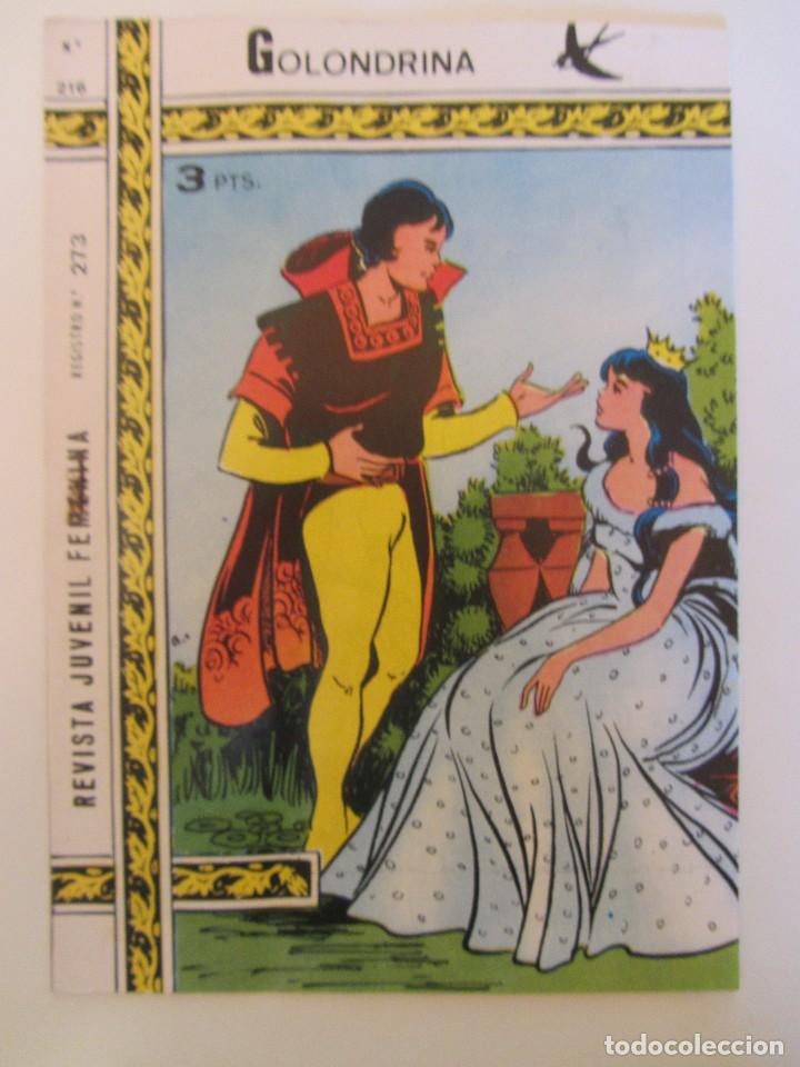 GOLONDRINA REVISTA JUVENIL FEMENINA Nº 216 (Tebeos y Comics - Ricart - Golondrina)