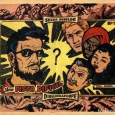 Tebeos: SELVA REBELDE-9, DE DEL ARBOL (RICART, 1963). Lote 115018239