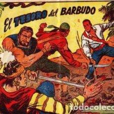 Tebeos: CORSARIO AUDAZ, EL- Nº 6 - EL TESORO DEL BARBUDO -GRAN JUAN GIRALT-1963- BUENO- LEAN- 8187. Lote 115099563