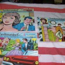 Tebeos: TRES COMICS EDICIONES RICART -- SENTIMENTAL--. Lote 116115051