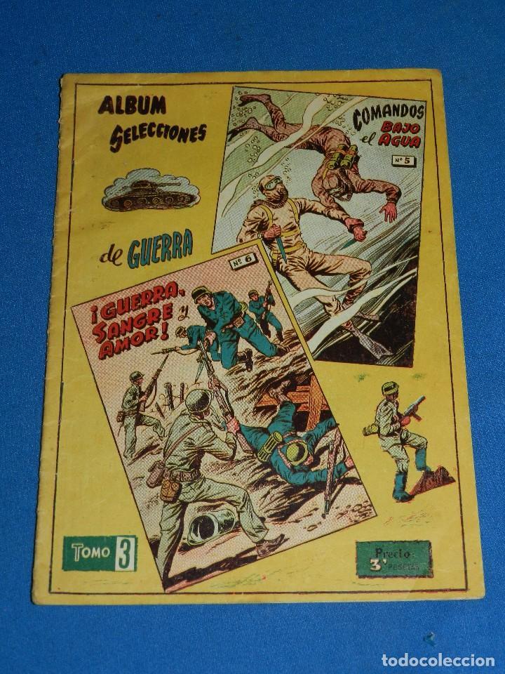 (M1) ALBUM SELECCIONES DE GUERRA TOMO 3 , GRAFICAS RICART , SEÑALES DE USO (Tebeos y Comics - Ricart - Otros)