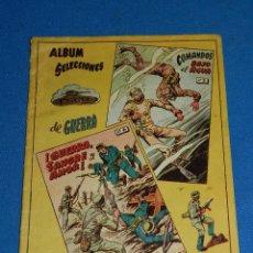 Tebeos: (M1) ALBUM SELECCIONES DE GUERRA TOMO 3 , GRAFICAS RICART , SEÑALES DE USO . Lote 116553395