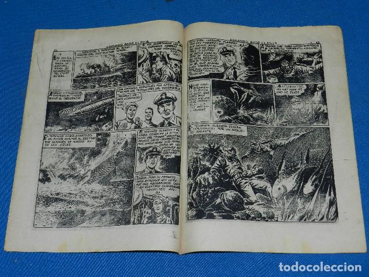 Tebeos: (M1) ALBUM SELECCIONES DE GUERRA TOMO 3 , GRAFICAS RICART , SEÑALES DE USO - Foto 2 - 116553395