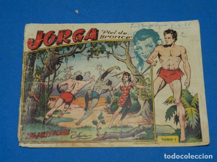 (M1) JORGA PIEL DE BRONCE , TOMO I , GRAFICAS RICART , SEÑALES DE USO (Tebeos y Comics - Ricart - Jorga)