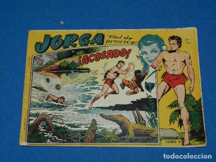 (M1) JORGA PIEL DE BRONCE TOMO II , GRAFICAS RICART , SEÑALES DE USO NORMAL (Tebeos y Comics - Ricart - Jorga)