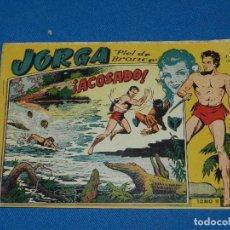 Tebeos: (M1) JORGA PIEL DE BRONCE TOMO II , GRAFICAS RICART , SEÑALES DE USO NORMAL. Lote 116606447