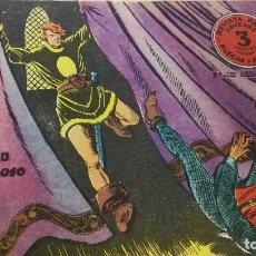 Tebeos: EL CASTILLO TENEBROSO Nº8-REVISTA JOVENES FLECHA Y ARTURO-RICART. Lote 118422535
