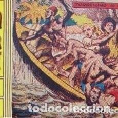 Tebeos: SAFARI - II ÉPOCA- 2 -TORBELLINO DE PELIGROS-1963-GRAN EMILIO GUIRAL-FLAMANTE- MUY DIFÍCIL-8196 *34. Lote 119468335