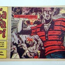 Tebeos: SAFARI REVISTA PARA LOS JÓVENES 5. EL ENIGMA DEL CRÁTER RICART, 1963. ORIGINAL. Lote 120931822