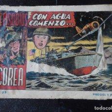 Giornalini: EPISODIOS DE COREA Nº 22 EDITORIAL RICART. Lote 121032403