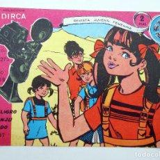 Tebeos: COLECCIÓN DIRCA REVISTA JUVENIL FEMENINA 37. PELIGRO CONJURADO (ALCÁNTARA / ESTRELLA). ORIGINAL OFRT. Lote 182660162