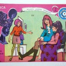 Tebeos: COLECCIÓN DIRCA REVISTA JUVENIL FEMENINA 55. EL TRÍO DE LA ALEGRÍA (ALCÁNTARA / ESTRELLA) 1969. OFRT. Lote 293791148